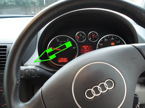 Audi A2 2001 2006 Cruise Control Supply And Fit