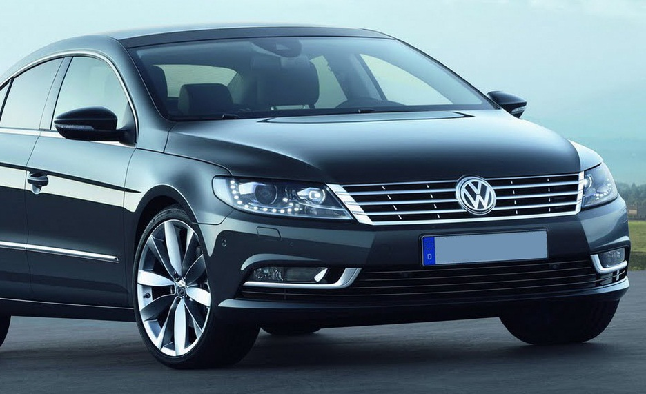 genuine vw passat cc 2012 onwards xenon headlamp with led drl s upgrade. Black Bedroom Furniture Sets. Home Design Ideas